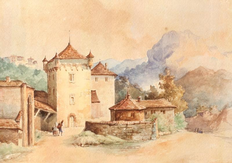 Castello tra i monti