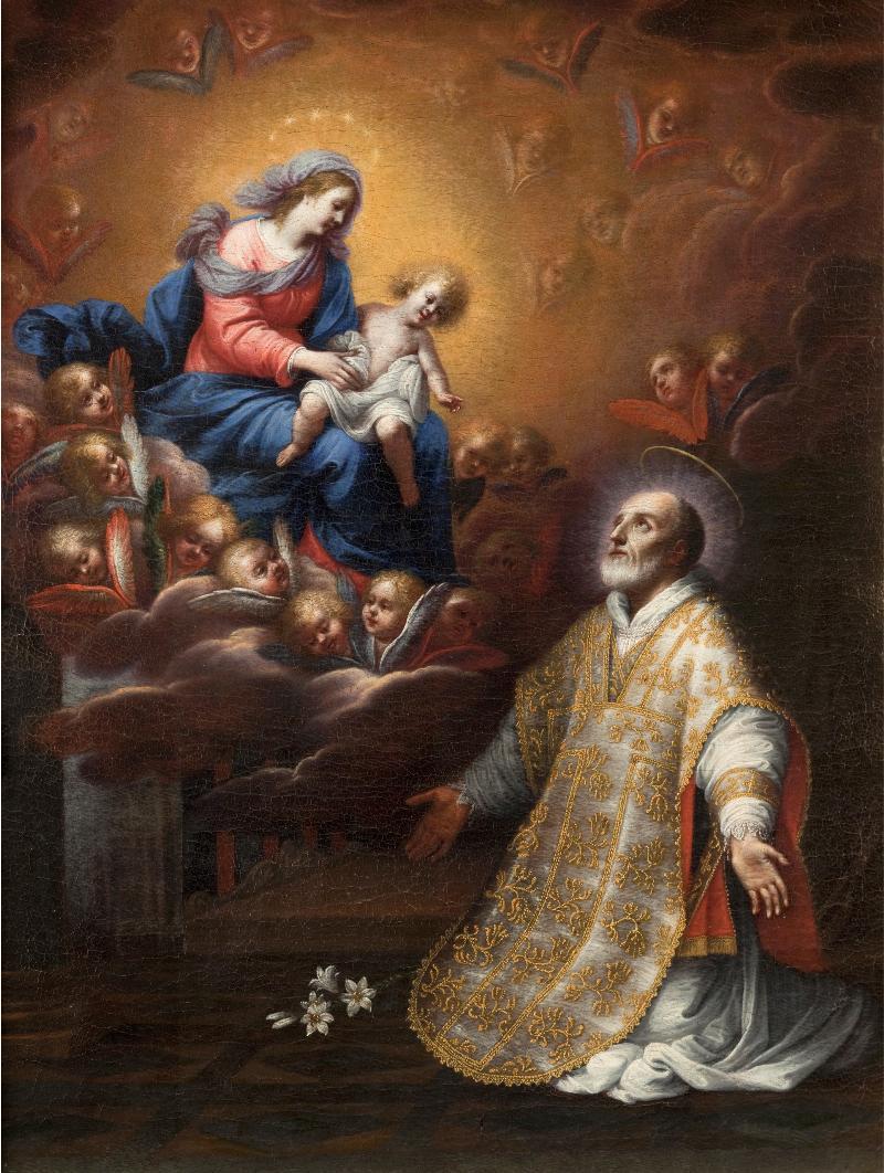 L'apparizione della Vergine con il Bambino a San Filippo Neri
