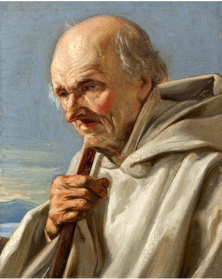 Vecchio monaco